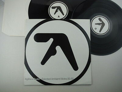 Aphex Twin,Selected Ambient Works 85-92,Extremely rare 1st Belgium only press,LP