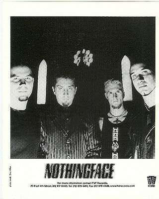 Nothingface, CLASSIC official 8x10 press photo! COOL record company portrait!