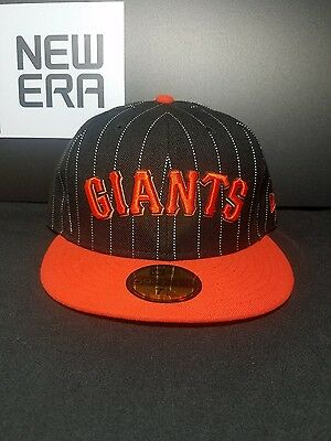 San Francisco Giants New Era 59Fifty Fitted MLB Hat/Cap Size 7-5/8