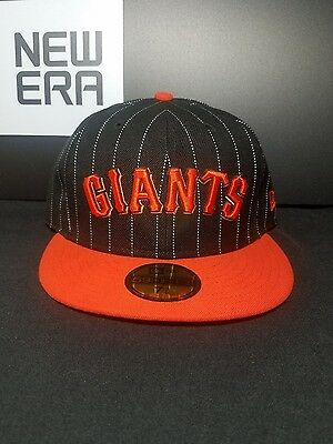 San Francisco Giants New Era 59Fifty Fitted MLB Hat/Cap Size 7-3/8