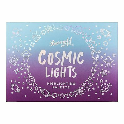 Barry M Cosmic Lights Cream and Powder Multicoloured Highlighting Palette