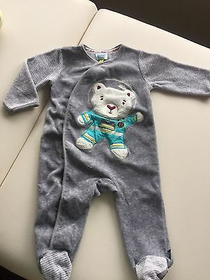 Baby Boy Ted Baker Suit All In One 3-6 Months Immaculate Condition