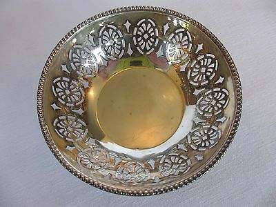 English Clewley & Co. Sterling Silver Nut Bowl / Bon Bon Bowl / Candy Dish