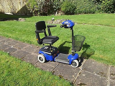 Whisper / Wispa Shoprider Mobility Scooter 4 mph Folds Up Fits In Car Boot