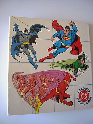 Dc  Comics Jla  Trading Cards Binder Capacite Pour Plus De 180 Cards Tbe