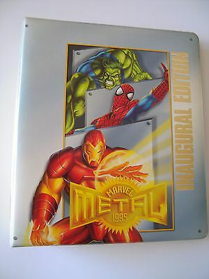 Marvel Metal Trading Cards Binder Capacite Pour Plus De 380 Cards Tbe