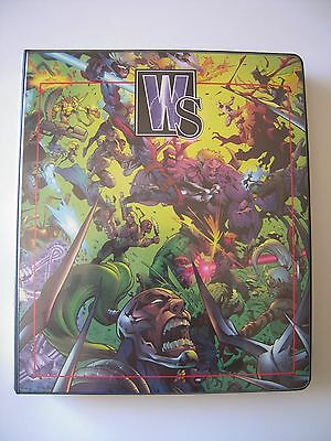 Wildstorm Trading Cards Binder Capacite Pour Plus De 190 Cards Tbe