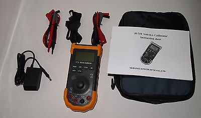 H717 Professional Calibrator Multimeter Loop Process Tester 0-28V 0-24mA