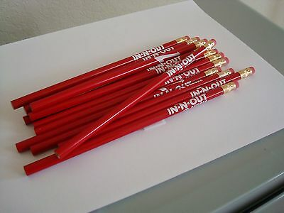 In-N-Out Burger Pencils (Lot Of 12)  NWOT #2 Lead Hard