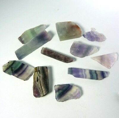 212.00Ct Ebay Natural Uncut Untreated Green Fluorite Gemstone Rough Lot -GIFTS