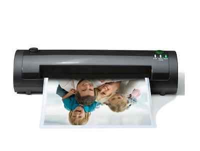 Laminator Laminating Machine Sealer Thermal Pouch Portable Home Office Black