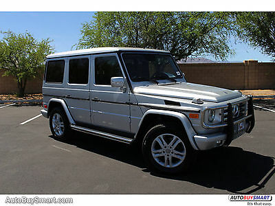 2011 Mercedes-Benz G-Class G550 2011 Silver G550! Low Mileage and Excellent Condition! Well Equipped! NEW TIRES!