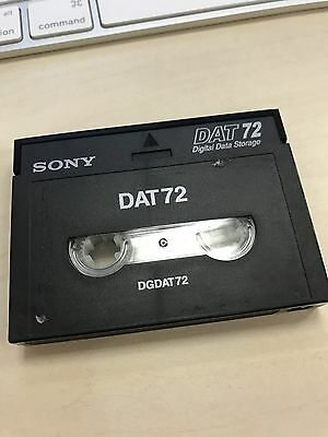 Sony DAT 72 GB DGDAT72 Data Cartridge Tapes
