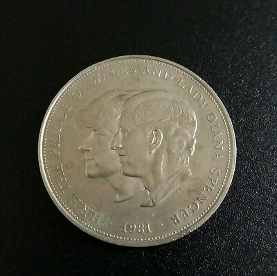 1981 prince of wales and lady diana coin