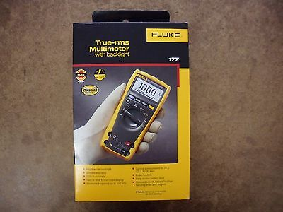 Fluke 177 True RMS Multimeter with Backlight Brand New In The Box