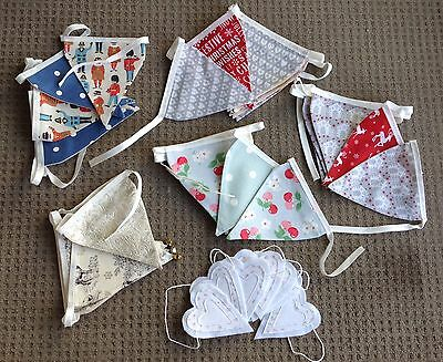 Wholesale Job Lot 7 Sets Of Bunting Including Cath Kidston Guards And Cherry