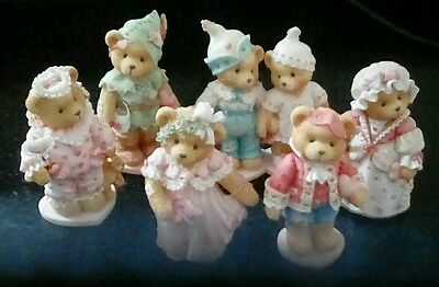 Cherished Teddies Sweetheart Ball Collection (6 pcs)