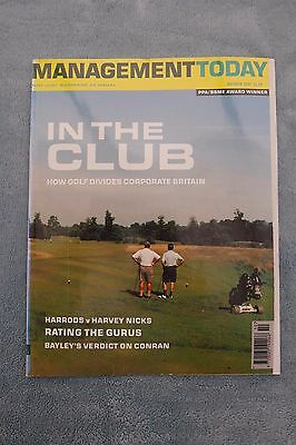 Management Today Magazine: October 2001, Corporate Golf, ExCon