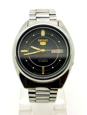 Vintage Seiko 5 Japan Made Automatic Gents Watch, Used.