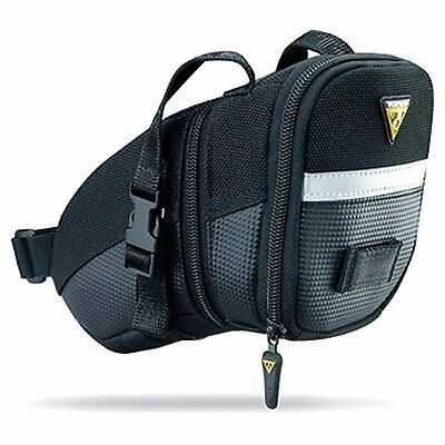 Topeak Aero Wedge Pack Bike Bicycle Seat Bag Saddle Strap, Size Medium