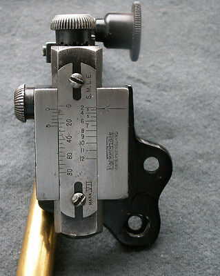 Parker Hale Ph5A-Twin Zero Rear Sight-Smle-Lee Enfield-Rifle Sight-Sniper