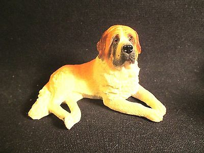 Vintage Saint Bernard Dog Figure