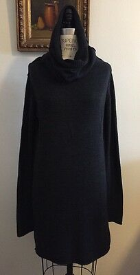 Lars Andersson Wool And Alpaca Sweater Dress M/L Comme Demulemeester