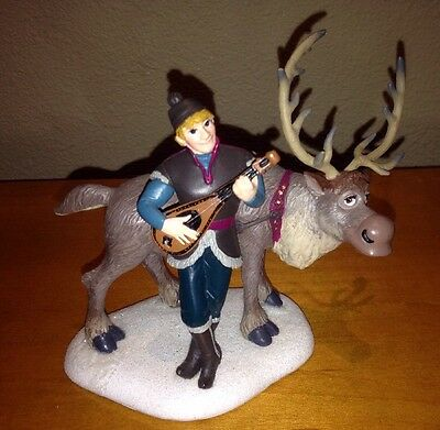 Dept. 56 Disney Frozen #4049327 Kristoff Serenading Sven Accessory NIB 2015