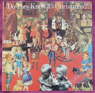 """Band Aid – Do They Know It's Christmas? 7"""" pic slv – FEED 1 – Ex"""