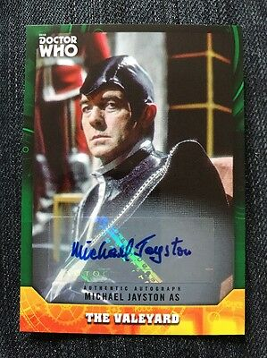 Topps Dr Who Signature Series Michael Jayston 50/50 As The Valeyard Auto Card