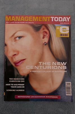 Management Today Magazine: March 2000, Management Tomorrow, ExCon