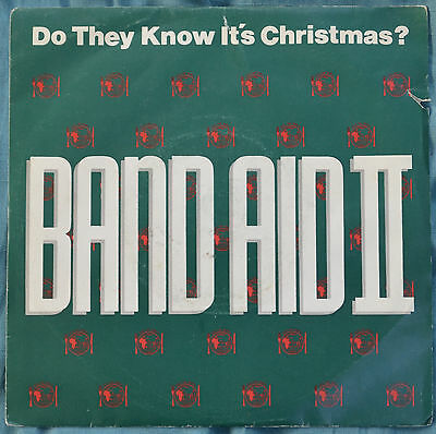 """Band Aid II – Do They Know It's Christmas 7"""" – FEED 2 – VG BUY 2+ for 25% OFF"""