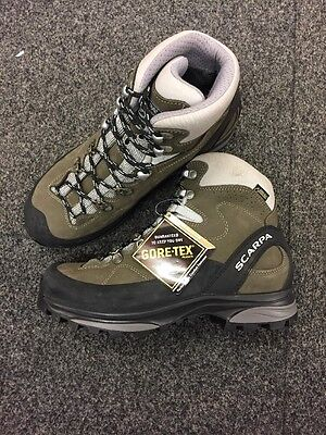 New Ladies Scarpa Gtx Walking Trekking Hiking Boot Size 38 Uk 5
