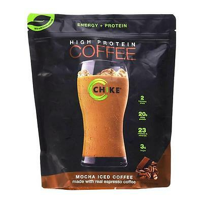 NEW Chike Nutrition High Protein Iced Coffee Mocha Espresso Gluten-Free Whey