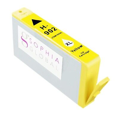 1 Yellow Ink Cartridge for HP 902XL HP 902 XL for Officejet 6950 6954