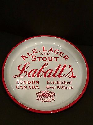 Antique Porcelain Tray From Lablatt's Ale