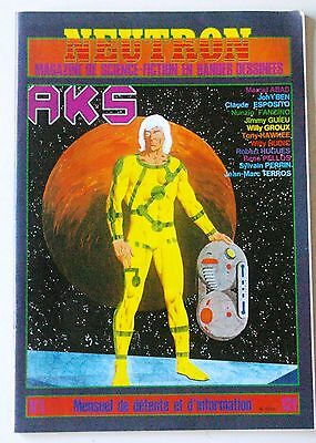 NEUTRON - N° 1 - Magazine de science fiction en bandes dessinées - 1980 SF