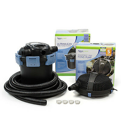 Aquascape UltraKlean 2500 Filtration Kit with BONUS Floating Pond Thermometer!