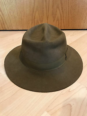 Vintage Stetson Boy Scouts Of America Official  Hat -7 1/8