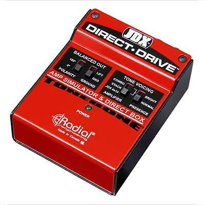 Radial Engineering JDX Direct-Drive Amp Simulator and DI Box