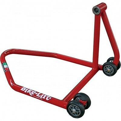 Single-sided swingarm left rs-16 rear stand red ... - Bike lift 41010243 (RS-16)