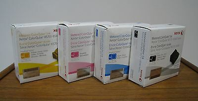 Genuine Xerox ColorQube 8570 8580 Solid Ink YMCB Metered PagePack eClick