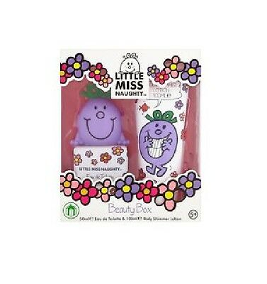 Little Miss Naughty ~  2 Piece 50ml EDT Gift Set ~ with Free Bath Fun Set