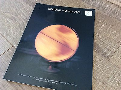 Coldplay Parachutes Sheet Music Songbook For Voice And Guitar