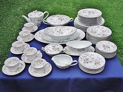 55 Pieces Noritake Chatham Dinner Ware