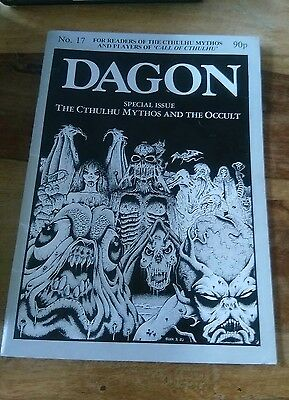 Dagon #17 - Call of Cthulhu UK 'Zine from the 1980's edited by Carl T Ford