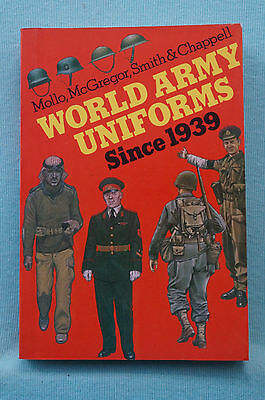 World Army Uniforms Since 1939 - Color Illustrations - About 400 pages.