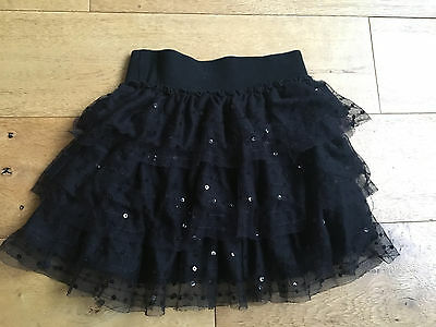 MARKS AND SPENCER M & S Limited Collection Black Sequin SKIRT  AGE 3- 4 YEARS