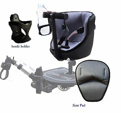 Seated Ride on Board - Accessories Seat pad and Bottle Holder