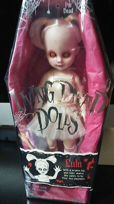 Living Dead Dolls Lulu Serie 4 Rare- Sealed New (Nuovo)